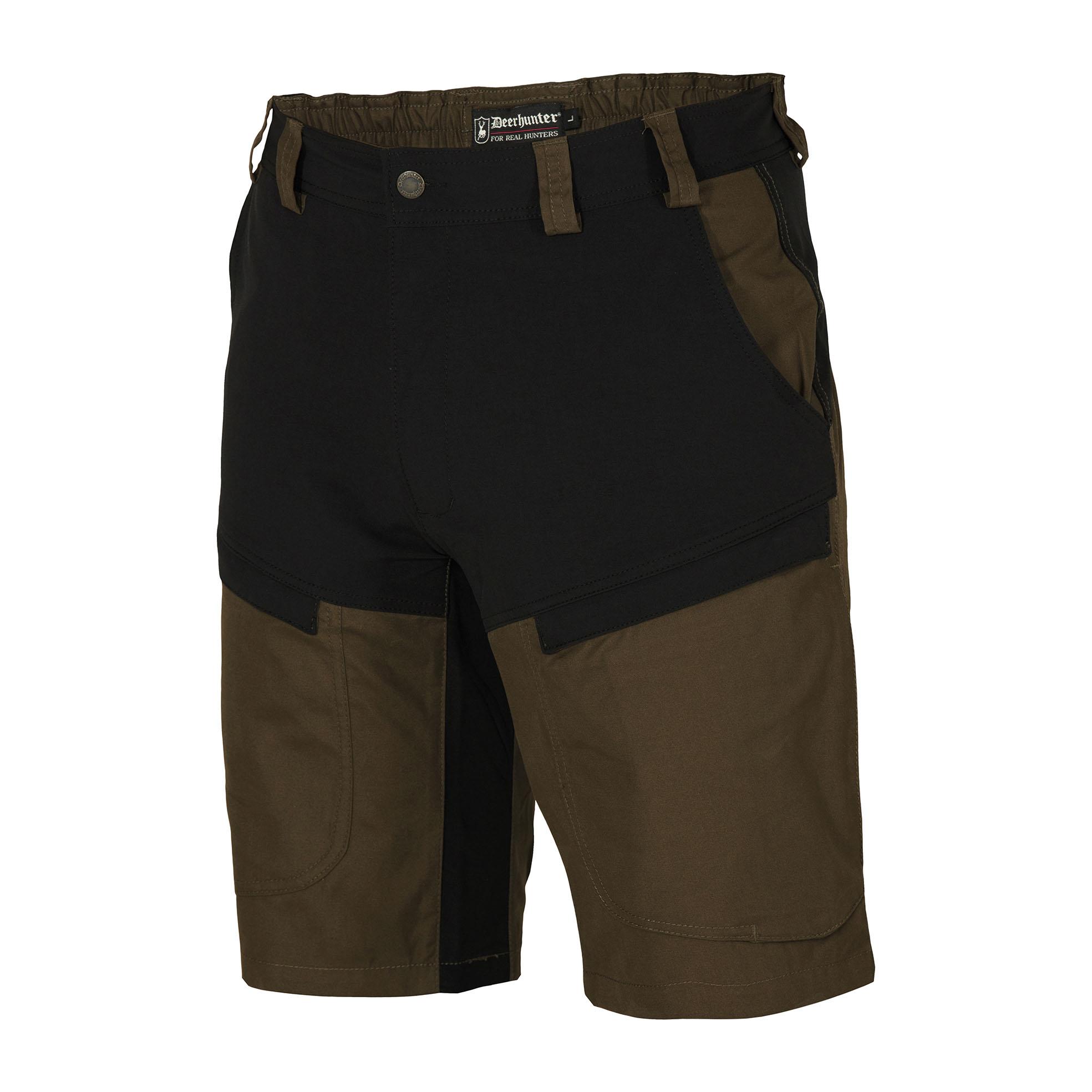 Outdoorhose, uni, Stretch, wasserabweisend, für Herren, schwarz, 26